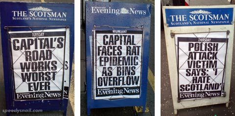 Evening News headlines