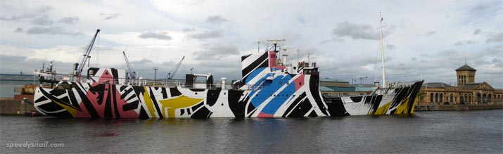 Dazzle Ship by Ciara Phillips