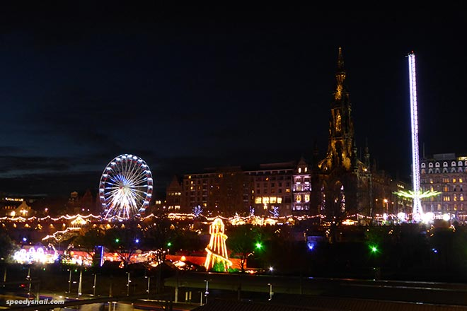 Edinburgh Christmas fair