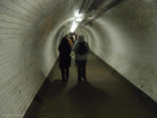 Greenwich Foot Tunnel, December 2002