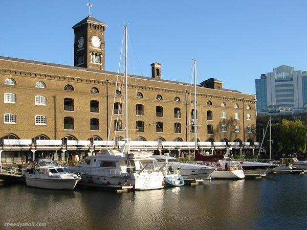 The Ivory House, St Katherine's Dock, November 2004