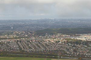 Edinburgh from the Pentlands