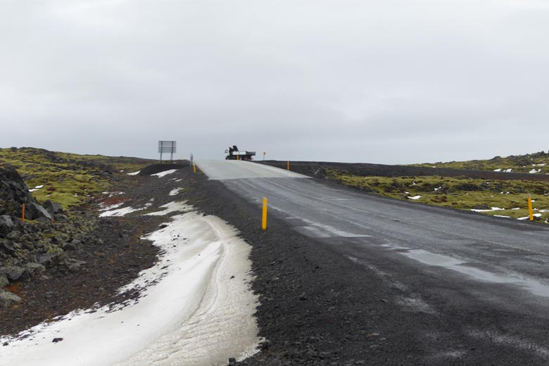 Road to Kleifarvatn, Iceland