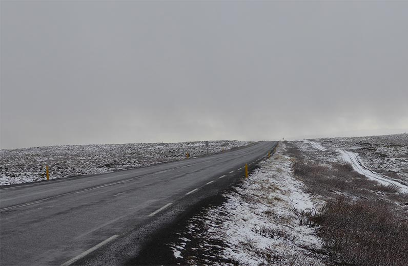 Road to Selfoss, Iceland