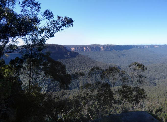 Echo Point, Katoomba, Blue Mountains, New South Wales