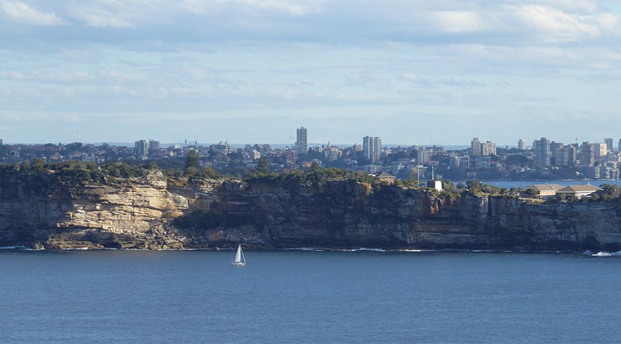 View from North Head, Sydney, New South Wales