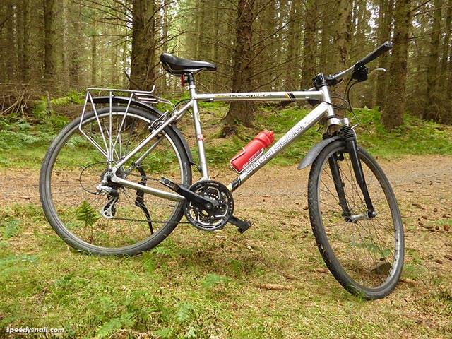 Bike at Glentress